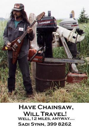 Sadi Synn and Powerful Chainsaw